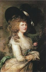Georgiana Spencer, duchesse de Devonshire à l'âge de trente ans (Gainsborough)