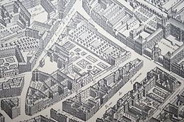 Rue de Tournon (plan de Turgot, 1736)